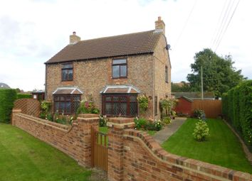 Thumbnail 4 bed detached house for sale in Church Lane, North Kyme, Lincoln