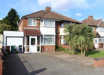 Thumbnail 3 bed semi-detached house for sale in Cooks Lane, Kingshurst, Birmingham