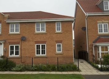 Thumbnail 3 bed end terrace house to rent in Sunningdale Way, Gainsborough