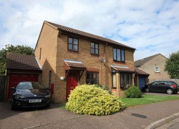Thumbnail 2 bedroom semi-detached house for sale in Suffield Close, Norwich