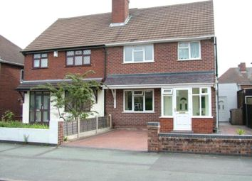 Thumbnail 3 bed semi-detached house to rent in Colman Avenue, Wednesfield, Wolverhampton