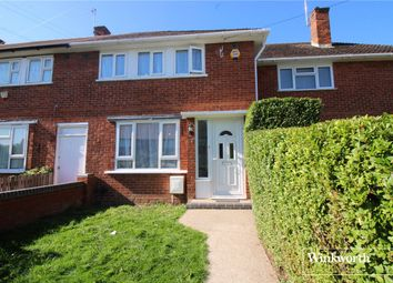 Thumbnail 3 bedroom terraced house to rent in Aycliffe Road, Borehamwood, Hertfordshire