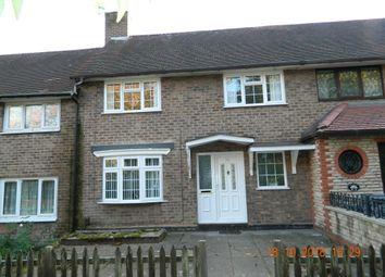 Thumbnail 3 bed terraced house to rent in Shenton Walk, Kingshurst, Birmingham