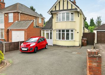 Thumbnail 3 bedroom detached house for sale in Greengate Lane, Birstall, Leicester