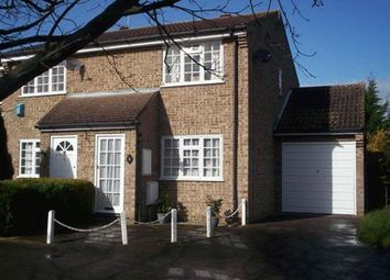 Thumbnail 3 bed end terrace house to rent in Thorncroft, Englefield Green, Egham