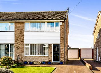 Thumbnail 3 bed semi-detached house for sale in Moor Knoll Close, East Ardsley, Wakefield