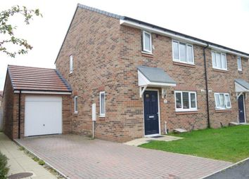 Thumbnail 3 bedroom semi-detached house for sale in Elder Drive, Calderstone, Newcastle Upon Tyne