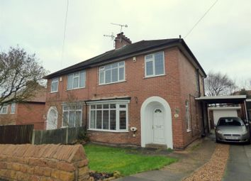Thumbnail 3 bedroom semi-detached house for sale in Barden Road, Mapperley, Nottingham