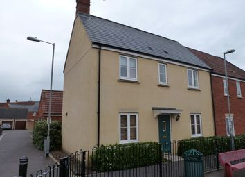 Thumbnail 3 bed end terrace house to rent in Hawks Rise, Yeovil