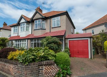Thumbnail 3 bed semi-detached house for sale in Poulton Avenue, Sutton