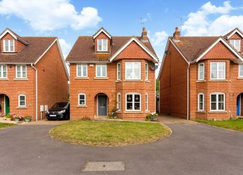 Thumbnail 4 bed detached house for sale in Shipley Close, Alton