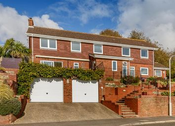 Thumbnail 4 bed detached house for sale in Upper Corniche, Folkestone, Kent