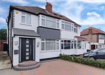 Thumbnail 3 bed semi-detached house for sale in Warwick Avenue, Edgware