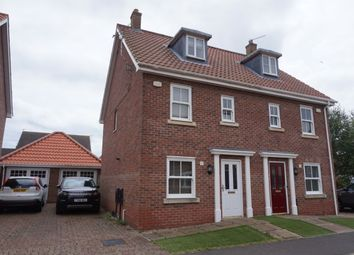 Thumbnail 3 bed property to rent in Carrel Road, Gorleston, Great Yarmouth