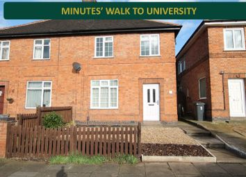 Thumbnail 3 bed semi-detached house for sale in Keble Road, Clarendon Park, Leicester