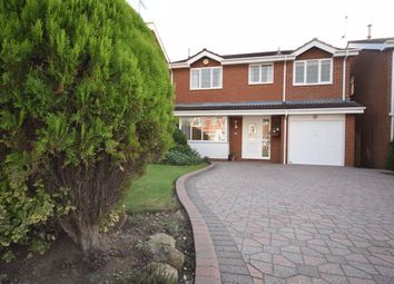 Thumbnail 4 bed detached house to rent in Bitham Court, Stretton, Burton-On-Trent