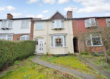 Thumbnail 3 bed terraced house for sale in Leicester Road, Oadby, Leicester