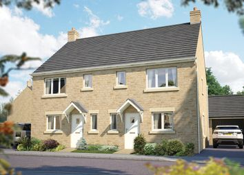 """Thumbnail 3 bed semi-detached house for sale in """"The Southwold"""" at Downs Road, Curbridge, Witney, Oxfordshire, Witney"""