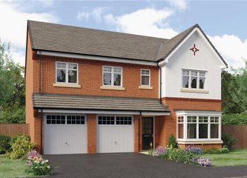 "Thumbnail 5 bed detached house for sale in ""Buttermere"" at Leeds Road, Thorpe Willoughby, Selby"