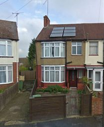 Thumbnail 3 bedroom end terrace house to rent in Shelley Road, Luton