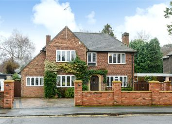 Thumbnail 5 bed detached house for sale in Firwood Drive, Camberley, Surrey