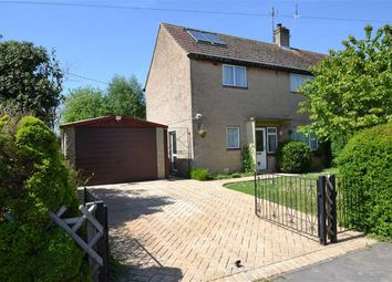 Thumbnail 3 bed semi-detached house for sale in Manor Crescent, Compton, Newbury, Berkshire