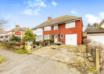 Thumbnail 5 bedroom semi-detached house for sale in Smallford Lane, Smallford, St. Albans