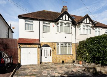 Thumbnail 4 bed semi-detached house for sale in Hilbert Road, Cheam, Surrey