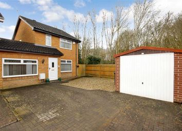 Thumbnail 3 bedroom link-detached house for sale in Ashburnham Close, Freshbrook, Wiltshire