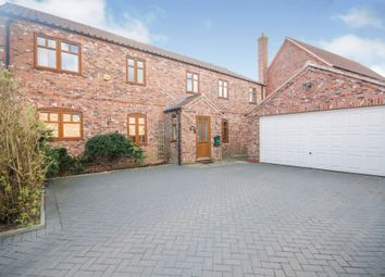 Thumbnail 5 bed detached house for sale in Long Street, Foston, Grantham