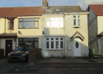 Thumbnail 4 bedroom end terrace house for sale in Grove Park Road, Rainham