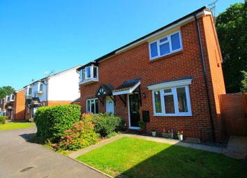 Thumbnail 3 bed semi-detached house for sale in Haining Gardens, Mytchett, Camberley