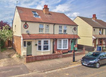 Thumbnail 3 bed semi-detached house for sale in Myrtle Road, Bedford, Bedfordshire