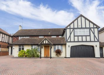 Thumbnail 5 bed detached house for sale in Stradbroke Drive, Chigwell