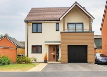 Thumbnail 4 bed detached house for sale in Fraser Drive, Bramshall, Uttoxeter, Staffordshire