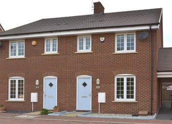 Thumbnail 3 bed semi-detached house for sale in Sumatra Crescent, Newton Leys, Bletchley, Milton Keynes