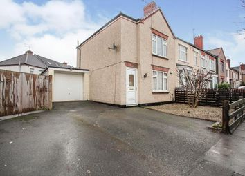 Thumbnail 2 bed semi-detached house for sale in Briscoe Road, Coventry, West Midlands