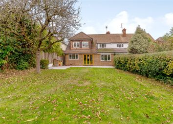 Thumbnail 4 bed semi-detached house for sale in Poplar Avenue, Windlesham, Surrey