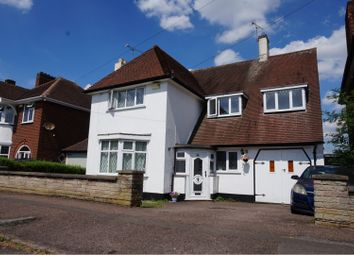 Thumbnail 4 bed detached house for sale in Withcote Avenue, Leicester