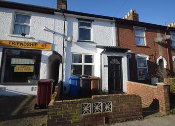 Thumbnail 2 bed terraced house to rent in Cauldwell Hall Road, Ipswich