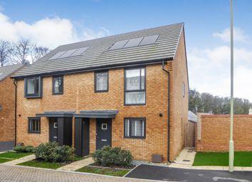 Thumbnail 2 bed semi-detached house for sale in Fairway Road, Basingstoke