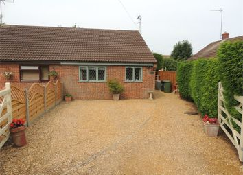 Thumbnail 2 bed semi-detached bungalow for sale in Bennett Close, Watlington, King's Lynn