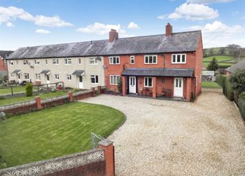 Thumbnail 3 bed end terrace house for sale in 4, Min-Y-Sarn, Sarn, Newtown, Powys