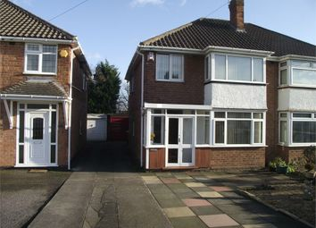 Thumbnail 3 bed semi-detached house to rent in Wyckham Road, Castle Bromwich, Birmingham