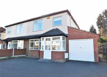 Thumbnail 3 bed semi-detached house for sale in Briarfield Road, Cheadle Hulme, Cheadle