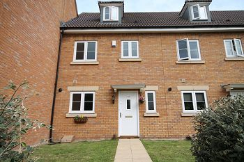 Thumbnail Town house to rent in Ludborne Place, Westbury, Wiltshire