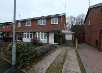 3 bed semi-detached house for sale in Chessington Crescent, Stoke-On-Trent ST4