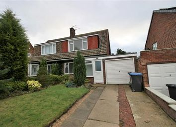 Thumbnail 3 bed semi-detached house to rent in Runnymede, Great Lumley, Chester Le Street