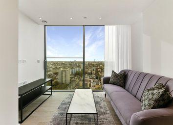Thumbnail 2 bed flat to rent in Carrara Tower, City Road, Islington, London