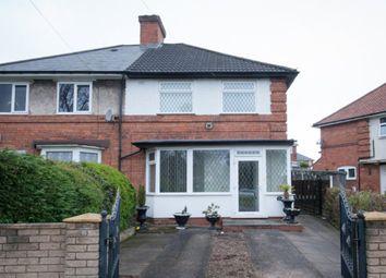 Thumbnail 2 bedroom semi-detached house for sale in Streetly Road, Erdington, Birmingham